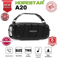 Hopestar A20 Premium Quality Wireless Portable Bluetooth Speaker Super Bass Garansi New