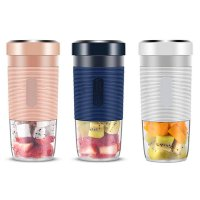 Juicing Cup / Gelas Juice Portable Blender Cup 4 Mata Pisau RANDOM
