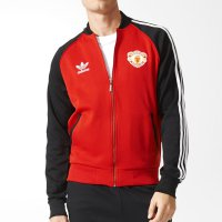 Adidas Originals MANCHESTER UNITED SUPERSTAR Track Jacket AI7407