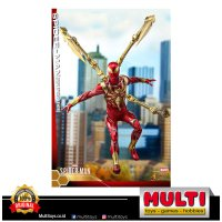 HOT TOYS VGM38 SPIDERMAN (IRON SPIDER ARMOR) 60341 / Figure / Collectible / Koleksi / Mainan / Pajangan / Original