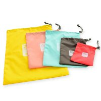 Travel tas / bag Happy Flight 4 in 1 (tas serut, tas travel organizer)