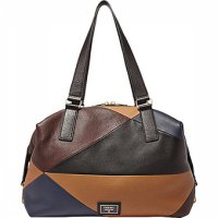 Fossil Preston Large Satchel – Brown Patchwork, ZB 6614194-27