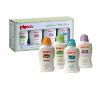 PAKET HEMAT TOILETRIES PIGEON - Pigeon Toiletries Trial Pack 50ml