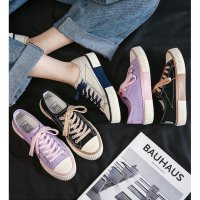 Ennwen SH05 Sepatu Kanvas Wanita Gaya Korea Signiture Women Canvas Shoes
