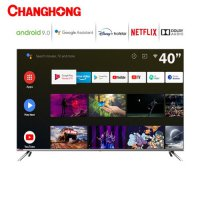 Changhong Framless L40H7 LED TV Android TV 40 Inch - FHD TV