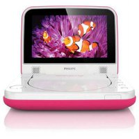 PHILIPS DVD Portable [PD7006P] - Pink
