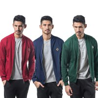 Premium JAKET BOMBER PRIA | size S-XL | Bahan Cotton Fleece | Mens Jacket
