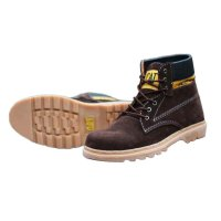 [PROMO LIMITED] SEPATU BOOTS SOLE RUBBEN SAFETY SUEDE LEATHER [TOP QUALTY]
