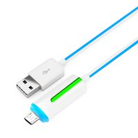Kabel Charger and Data USB Micro High Speed LED G319