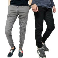 CELANA JOGGER CHINO LONG PANTS JUMBO | ZIPPER JOGER | PLAIN JOGGER HIGH QUALITY