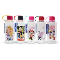 Botol Minum Mickey / Minnie / Princess / Daisy / Disney / Botol Karakter Kaca / Souvenir Ulang Tahun / Drinking Bottle / Glass Bottle / Water Bottle