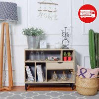 THE OLIVE HOUSE - SIMPLE BOOKCASE SIDE BOARD 901