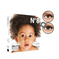 NEW!!! Softlens EXOTICON X2 Ice N8 - BLACK (16 mm)