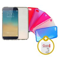 [1+1] PROMO BUNDLE Jelly Case + Tempered Glass - Termurah & Terlengkap