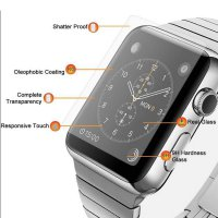 HMC Apple Watch - 38mm Tempered Glass - 2.5D Real Glass & Real Tempered Screen Protector