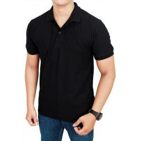 Polo shirt hitam