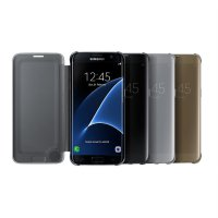 Samsung Clear View Cover Galaxy S7 Flat