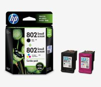 HP 802 Ink Cartridge Combo Pack