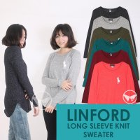 The-Fahrenheit Linford Long Sleeve Knit Sweater