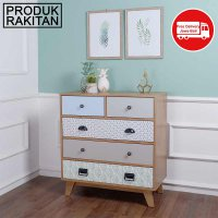 THE OLIVE HOUSE  - OCTAVE CHEST DRAWERS - PRODUK KNOCKDOWN