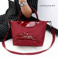 TAS BRANDED WANITA AUTHENTIC LONGCHAMP LE PLIAGE NEO VICTOIRE SMALL ORIGINAL WITH LONG STRAP