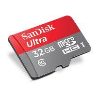 Sandisk Ultra Micro SD class 10 32GB 80MB/s microSDHC Free SD card adapter - Garansi Resmi