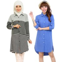 Jfashion Tunik Sephia simpel elegan