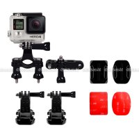 GoPro Action Camera Complete Set for Bike Helmet for GOPRO, BRICA B-PRO & Xiaomi Yi Camera
