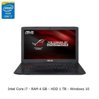 ASUS ROG GL552VX - Intel I7 7700 - 4GB - 1TB - Nvidia GTX950MX - FHD-windows 10