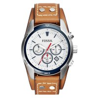 FOSSIL CH2986 Jam Tangan Pria Leather Strap - Brown | ZRF0NM6MHCIJYAC-FOSSIL-CH2986