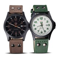 Unisex Soki leather strap watches - 3 colors With Date Display | SOKI Watches