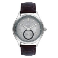Moment Watch Lee Cooper LC-62G-C Jam Tangan Pria -  Leather Strap - Coklat