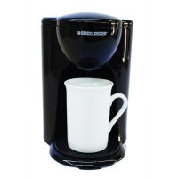 Black And Decker DCM25-B1 Personal Coffee Maker - Hitam