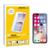 Gobukee Dual Force iPhone X FULL GLUE Tempered Glass Screen Protector