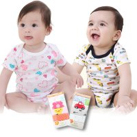(1 Pack isi 5pcs) Baby Romper 100% Cotton / Bodysuits / Jumpers / Baby Clothing