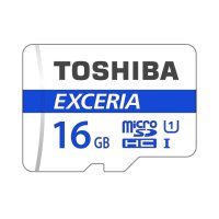 Toshiba MicroSD 16GB 48MB/s Exceria UHS-1 Class 10 - No Adapter