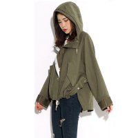 ZR Hooded Parka Olive Green