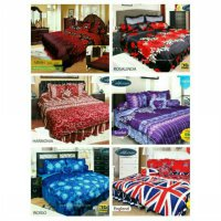 BEDCOVER SET CALIFORNIA KING 180 X 200 / BED COVER SET 180X200