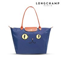 AUTHENTIC LONGCHAMP LE PLIAGE MIAOU SMALL LONG HANDLE (SLH)