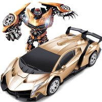 Mainan Anak RC Transformers Force Ares 2.4G