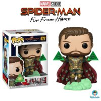 Funko POP! Spider-Man Far From Home - Mysterio W/out Helmet EXCLUSIVE