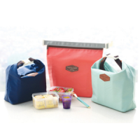 iconic insulated lunch pouch tas bekal tahan panas dingin cooler bag