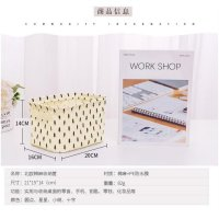 CREAM Desktop storage keranjang multifungsi desktop box organizer A582