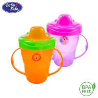 BABY SAFE TRAINING CUP HARD SPOUT 210ML [AP006]