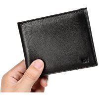 Original XIAOMI Wallet New Mens Trifold Genuine Leather