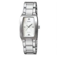 JAM TANGAN CASIO ORIGINAL LTP-1165 A-White Woman Watch
