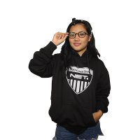 Tokowow - NET TV - Sweater Hoodie Sablon - Black