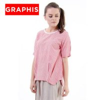 GRAPHIS Short Sleeve Blouse