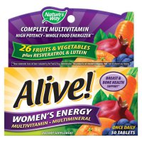 Nature's way Alive Women Energy Multivitamin - 50 Tablet