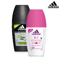 (GET2PCS) Adidas 6in1 Roll-On 40ml